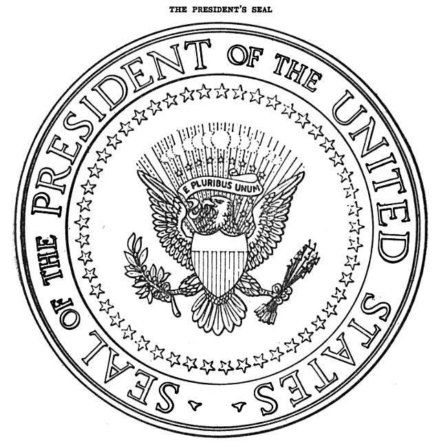 638x642 President Clipart President Seal Cute Borders, Vectors, Animated