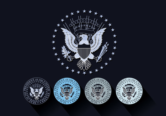 632x443 Presidential Seal Vector Free Vector Download 387519 Cannypic