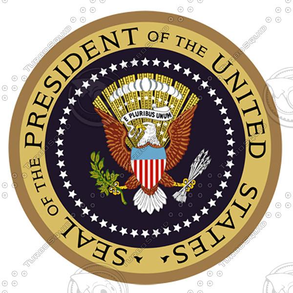 600x600 Presidential Seal