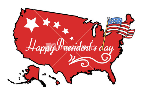 500x331 Happy Presidents Day Vector Clipart Cartoon