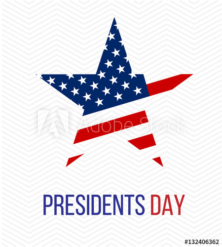 450x500 Presidents Day Vector Background
