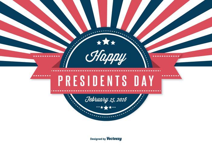 700x490 Retro Presidents Day Illustration
