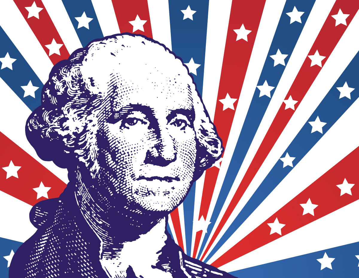 1200x927 The Bookworm Educational Supplies Presidents Day Vector Usa