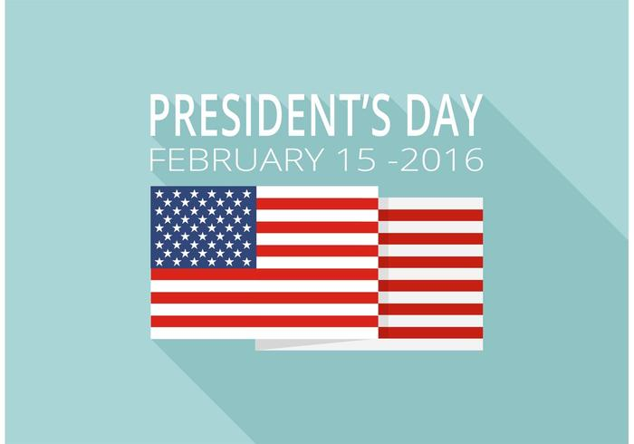 700x490 Free Presidents Day Vector Background