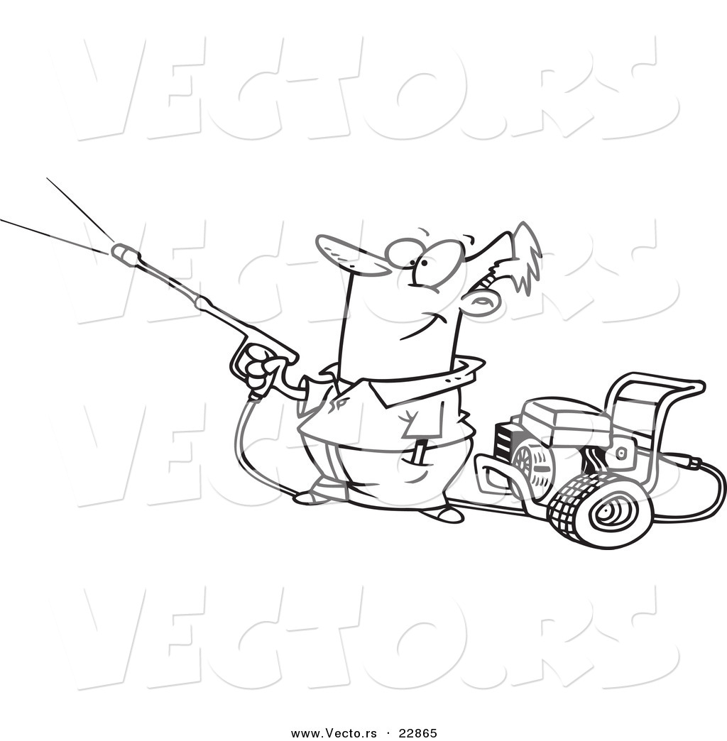 1024x1044 Pressure Washer Clipart