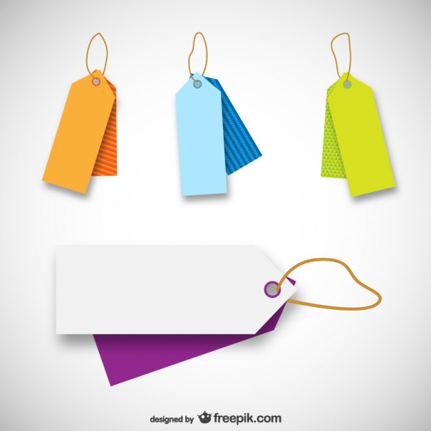 626x626 Price Tag Templates Vector Free Download