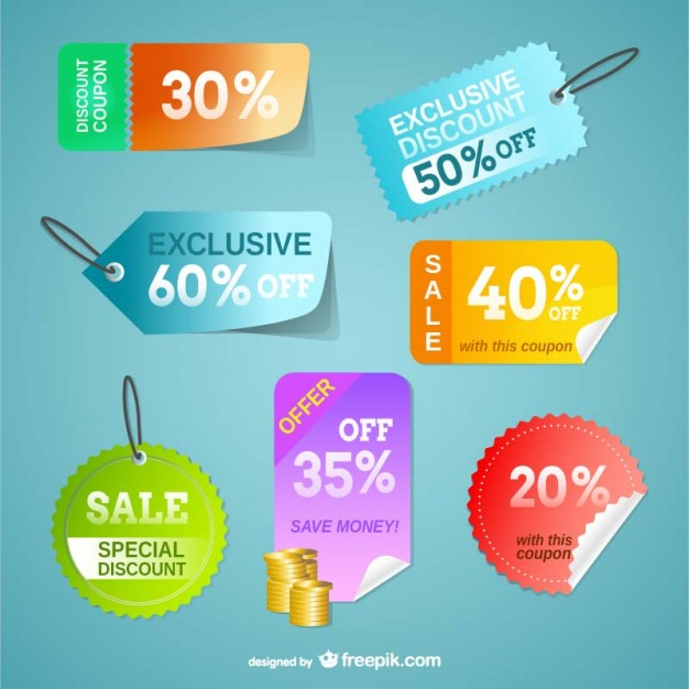 626x626 Price Tags Vector Free Download