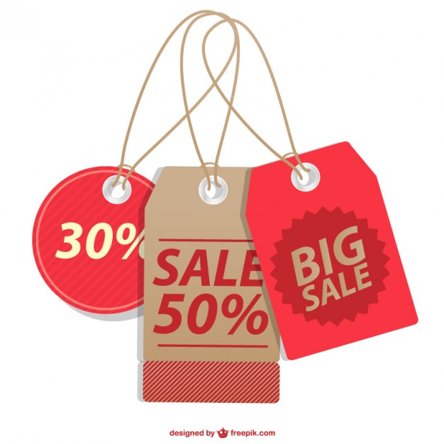 626x626 Sale Price Tags Collection Vector Free Download