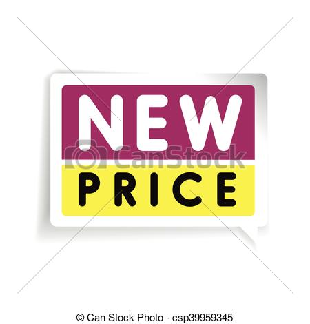 450x470 New Price Tag Vector.