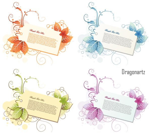 600x530 Free Free Download Price Tag Vector With Leaves And Curls Psd