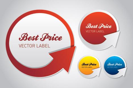 468x312 Free Download Of Best Price Vector Label Vector Graphic