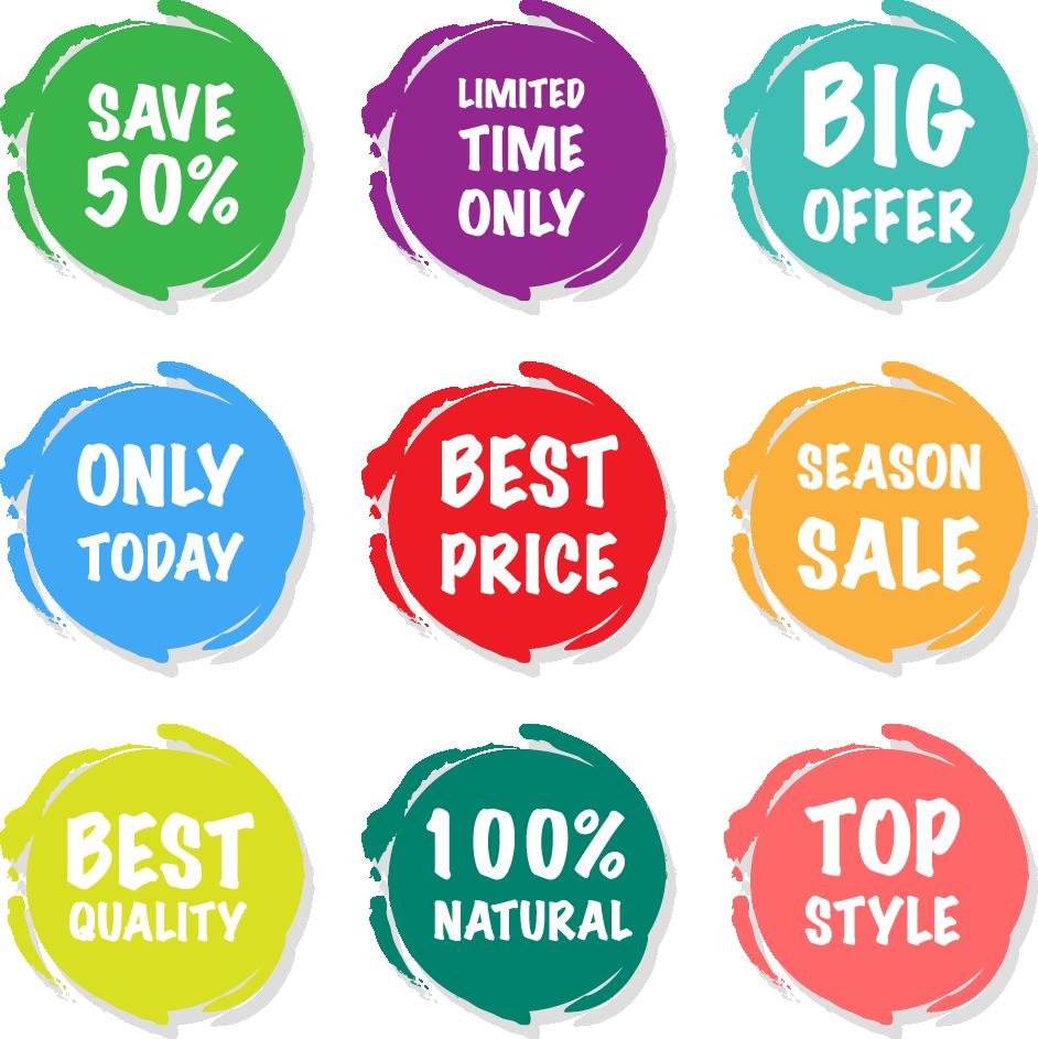 942x943 Sales Sticker Price Tag