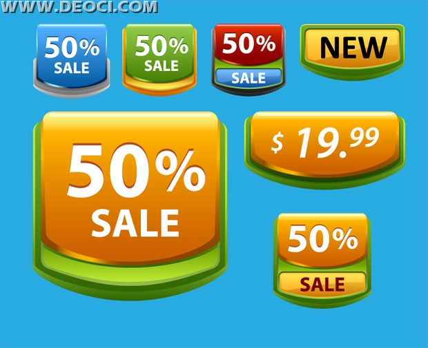 620x505 50% Off The Price Tag Vector Free Download Ai Eps Material