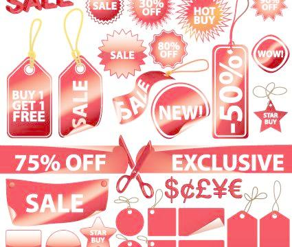 425x360 A Vivid Price Tag, A Vector 01 Free Download Eps Files