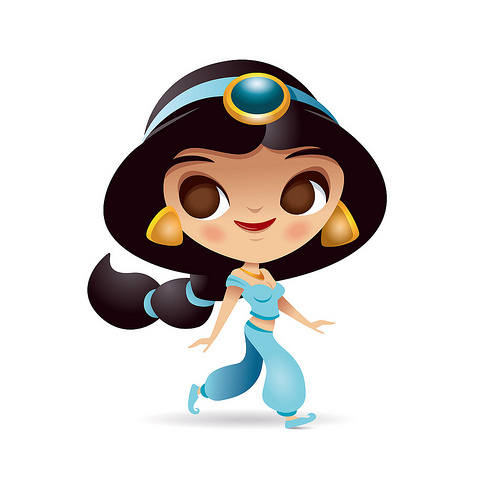 Princess Jasmine Vector At Getdrawings Com Free For Personal Use