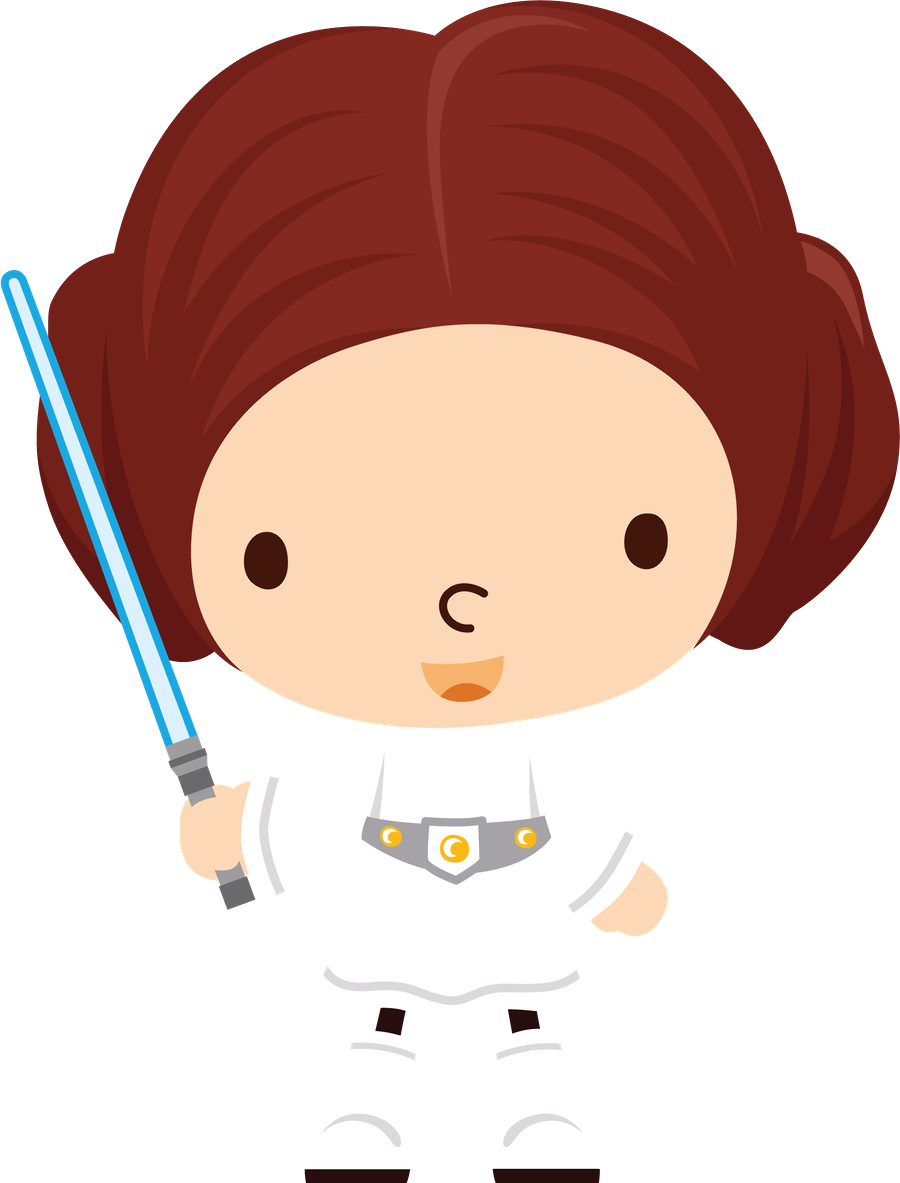 Princess Leia Vector