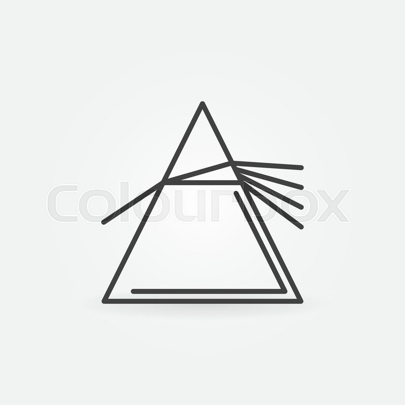 800x800 Vector Dispersive Prism Icon