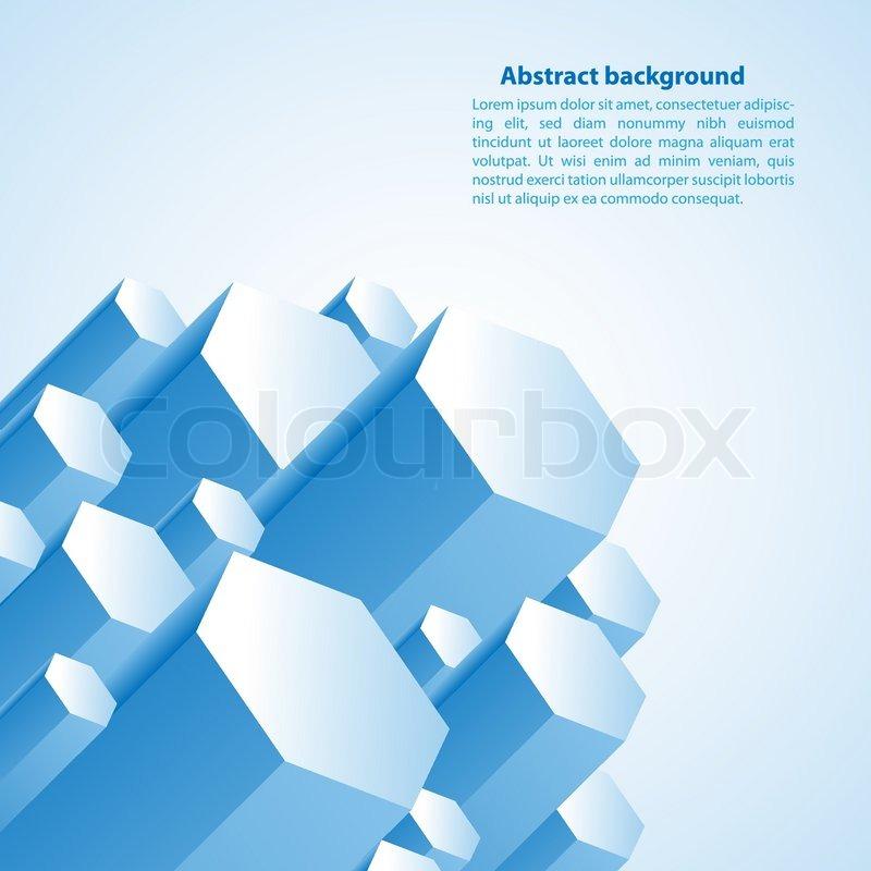 800x800 Cristal Prism. Vector Illustration For Your Business Presentation