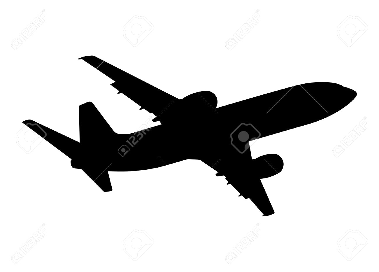 Private Jet Vector