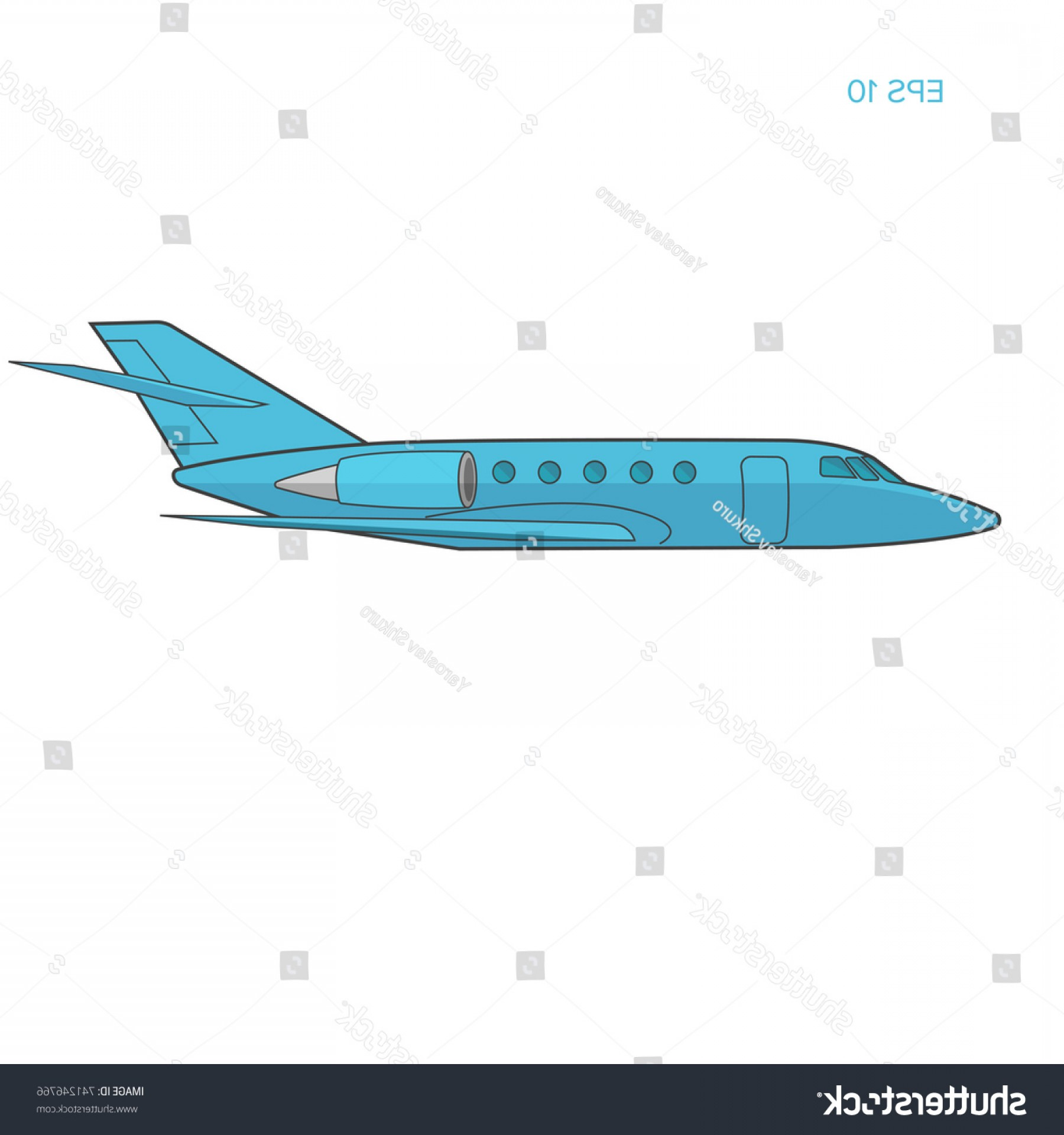 1800x1920 Private Jet Vector Flat Design Business Sohadacouri