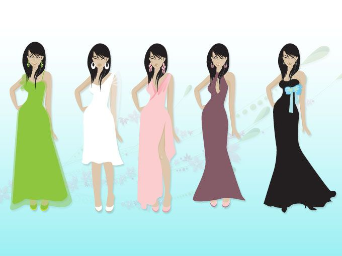 680x510 Collection Of Semi Formal Dress Clipart High Quality, Free