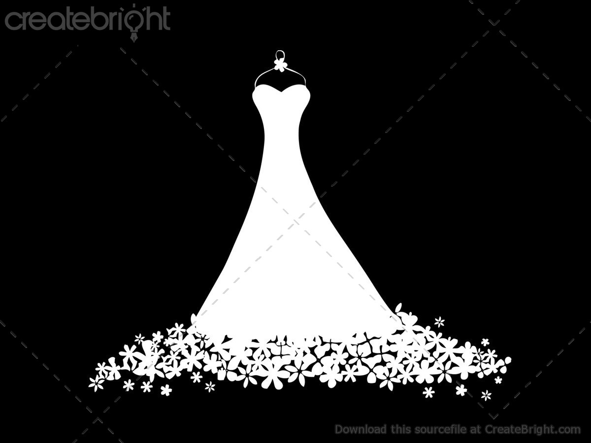 1200x900 Floral Vector Dress Illustration By Terry Bell In Illustrations