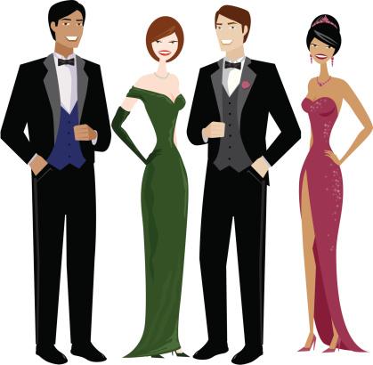419x410 White Dress Clipart Prom Dress 4055152