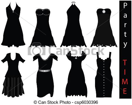 450x357 Black Dress Clipart Formal Attire