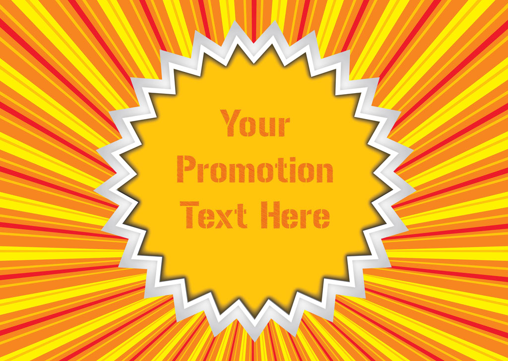 1024x728 Promotion Vector Sticker Vector Art Amp Graphics