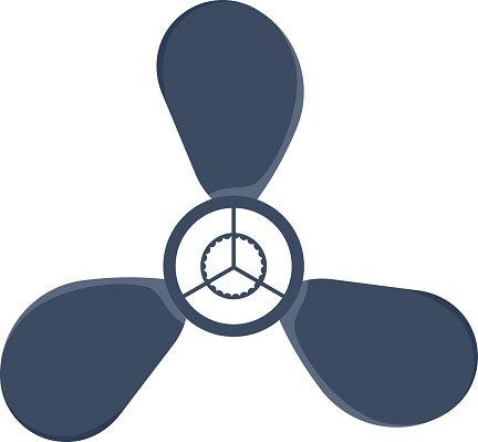 432x399 Propeller Fan Vector Stock Vectors