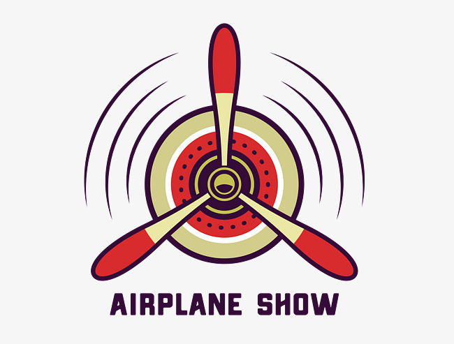 650x493 Vector Flat Retro Aircraft Propeller Pattern, Aircraft, Propeller