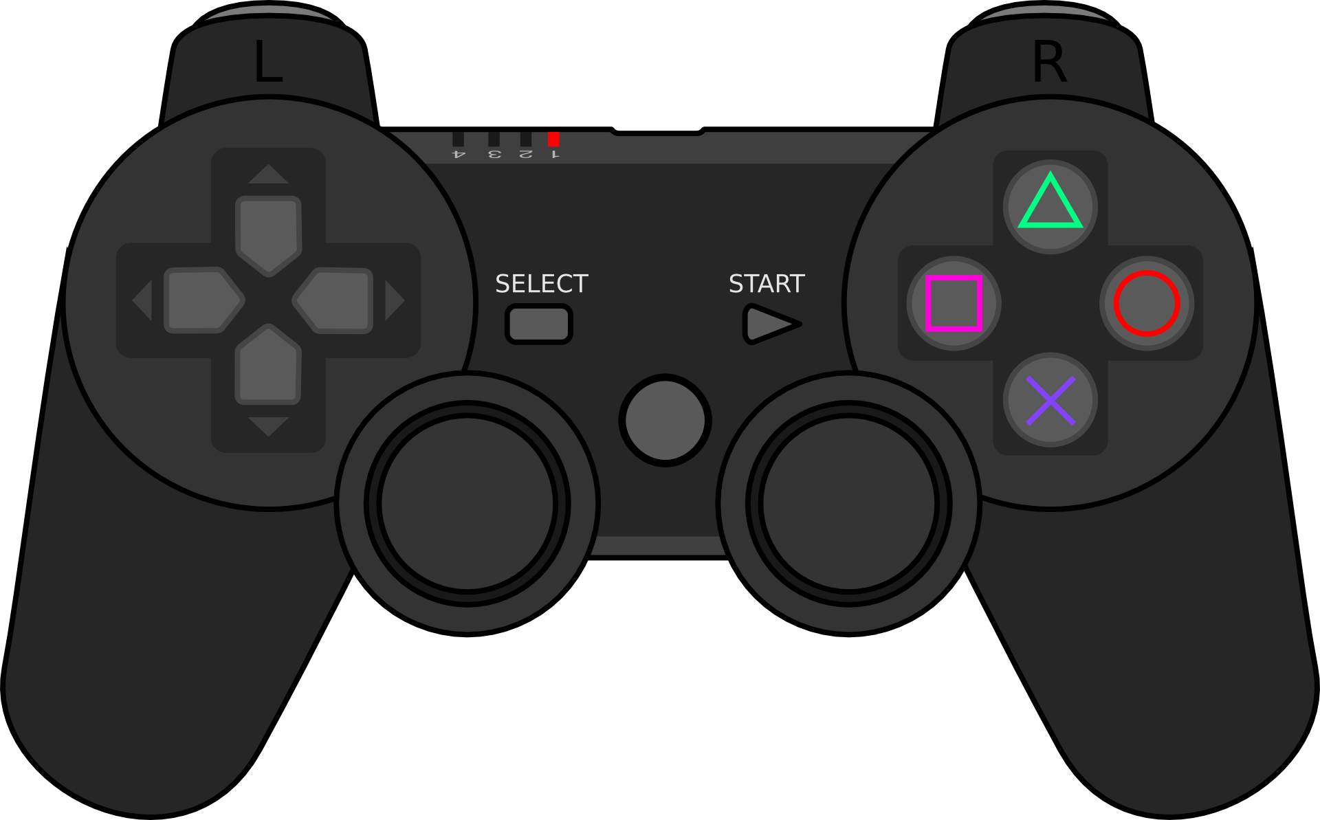 1920x1193 Images Of Game Controller Vector