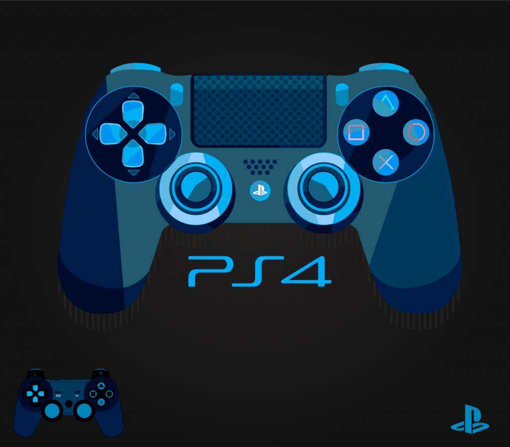 1024x898 Ps4 Controller Vector Freebie Hdfh Ps4 Controller