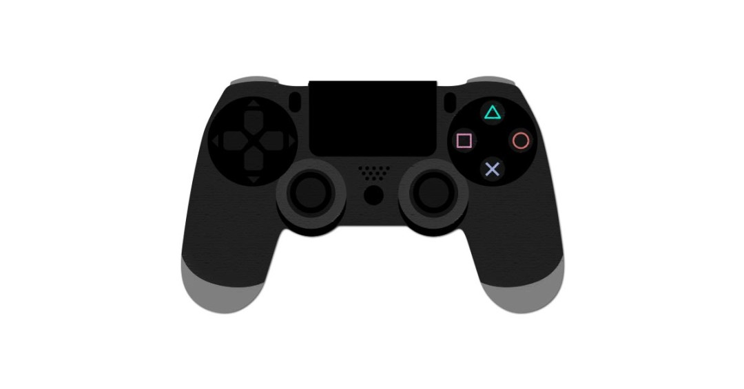 1080x565 Playstation 4 Controller Vector And Png Free Download The