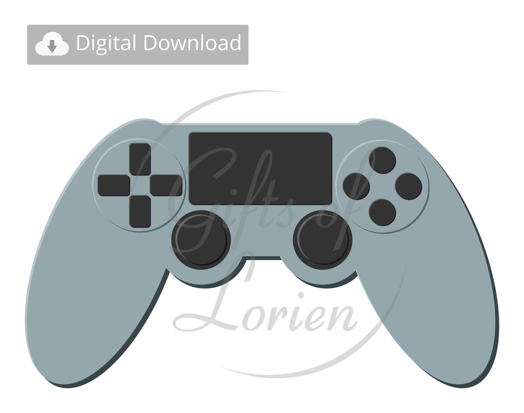 1665x1313 Controller Vector Video Game Controller Gaming Etsy