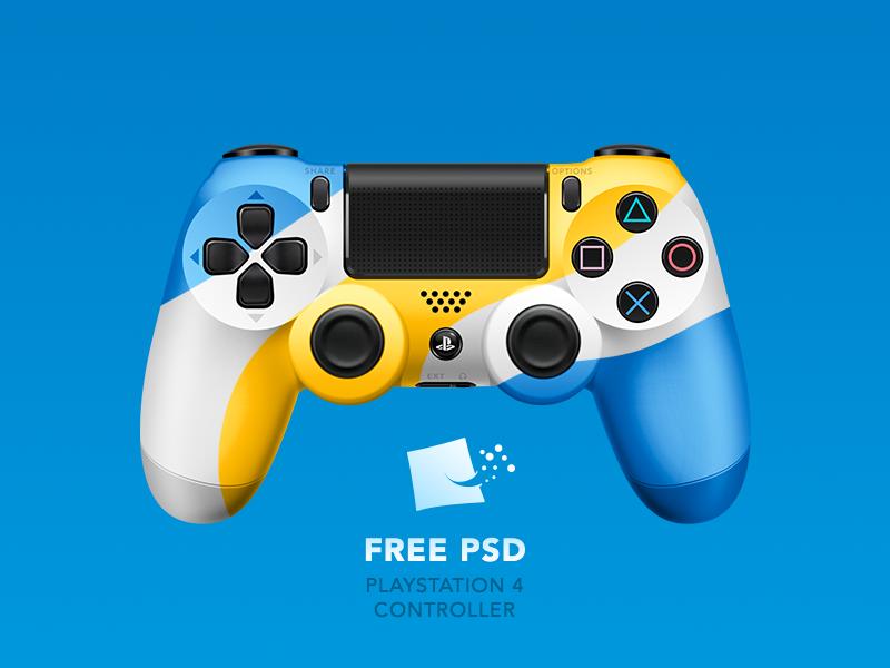 800x600 Dualshock 4 [ Free Psd] By Pedja Rusic