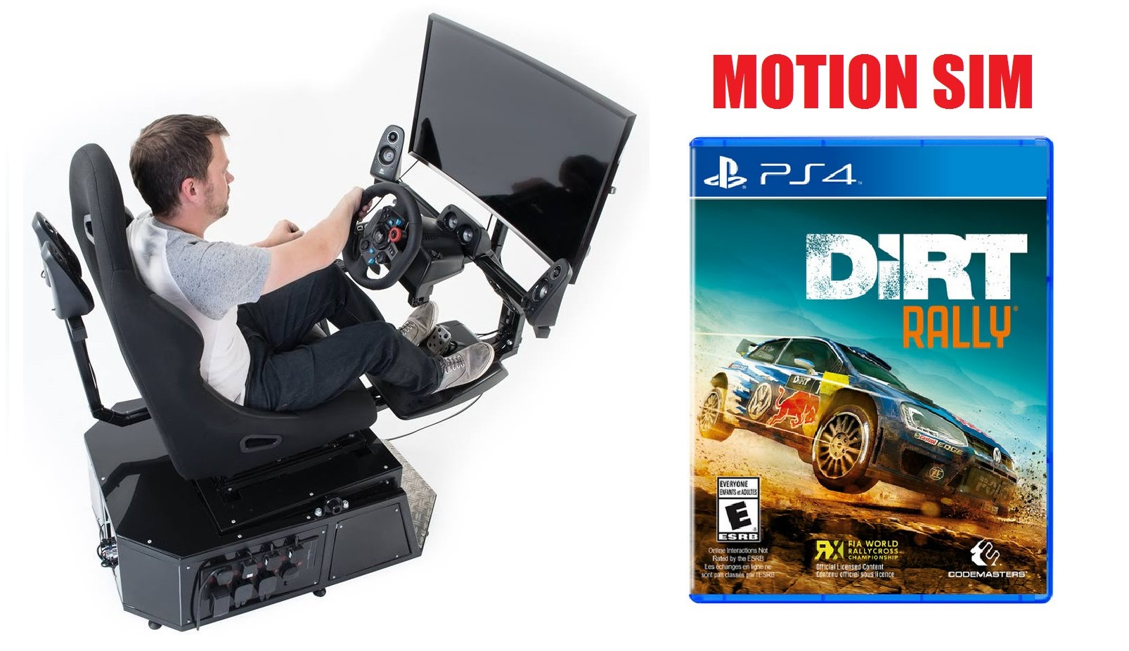 1606x926 Dirt Rally Ps4 Motion Simulator Vector Gt1 Mp