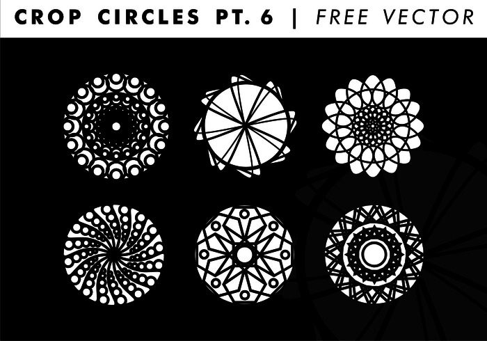 700x490 Crop Circles Pt. 6 Free Vector