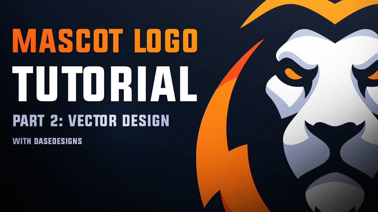 1280x720 Mascot Logo Tutorial Pt 2 Vector Design With Dase