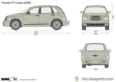 400x283 Chrysler Pt Cruiser Vector Drawing