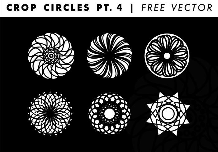 700x490 Crop Circles Pt. 4 Free Vector