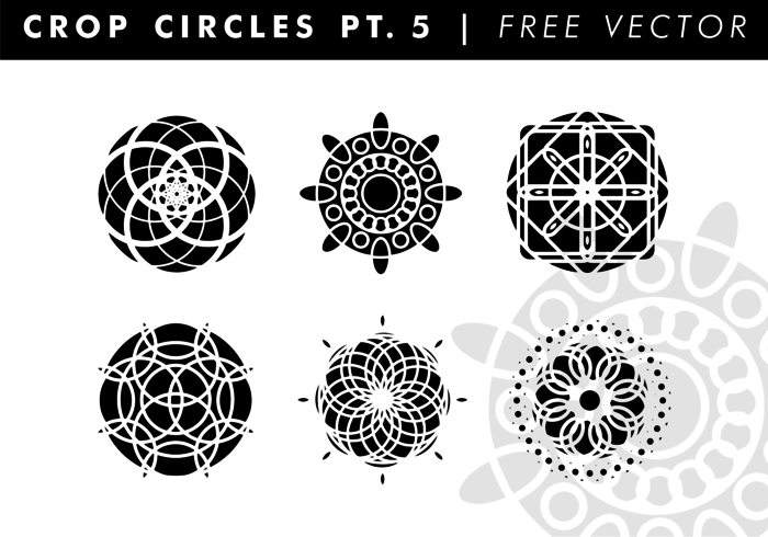 700x490 Crop Circles Pt. 5 Free Vector