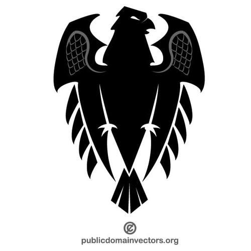 500x500 Eagle Vector Crest Public Domain Vectors