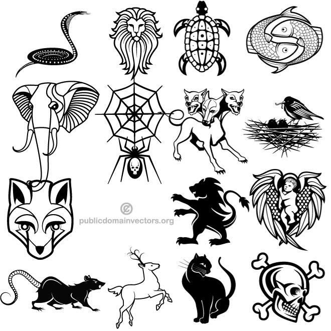 660x660 Vector Pack In Public Domain