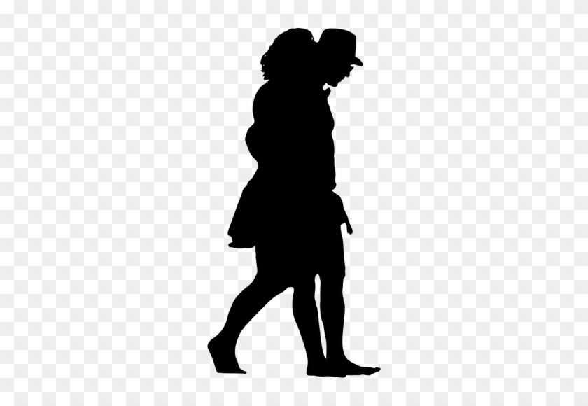 840x580 Boy And Girl Walking Silhouette Public Domain Vectors