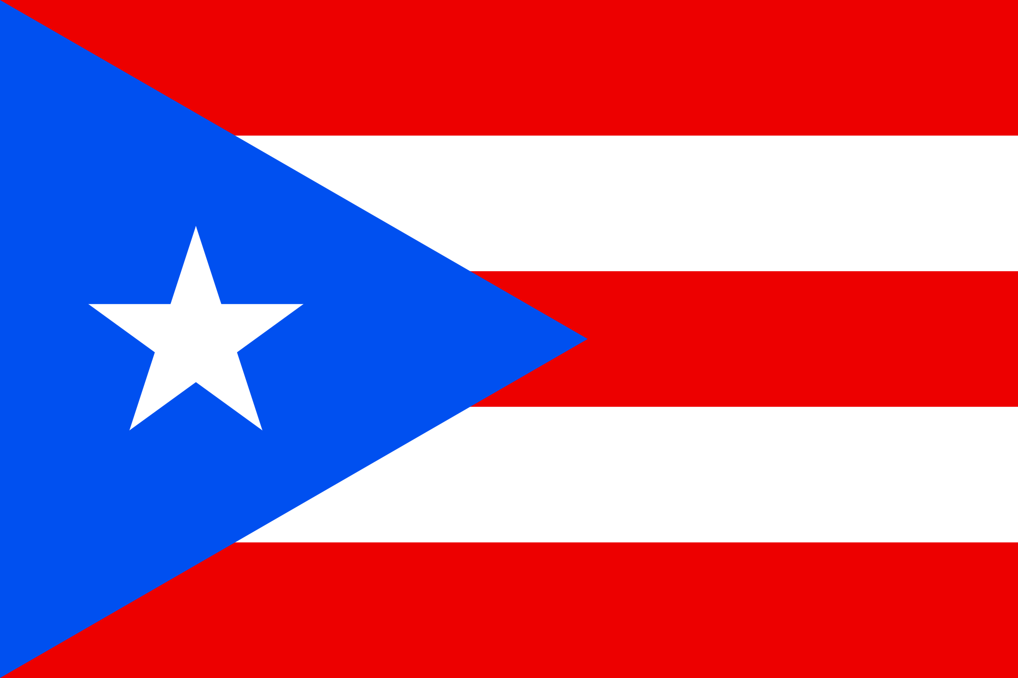 Puerto Rico Flag Vector At Getdrawings Free Download
