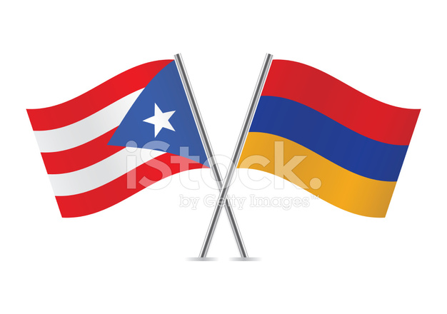 626x440 Puerto Rican And Armenian Stock Vector