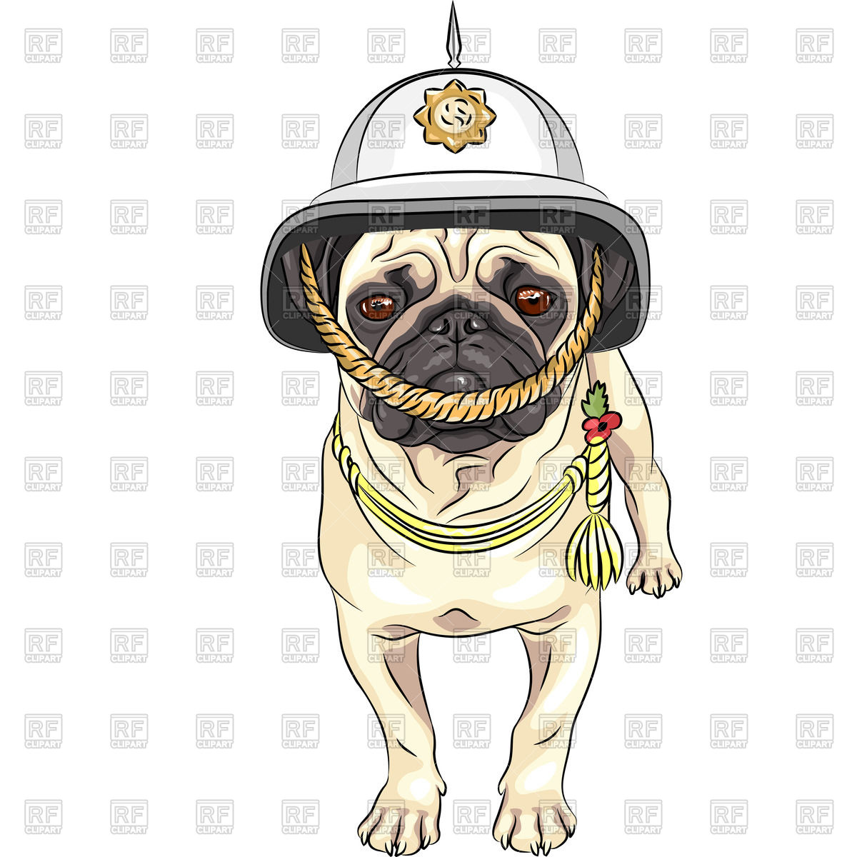 1200x1200 Serious Dog In The British Helmet