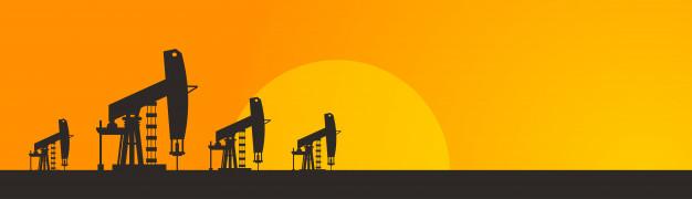 626x180 Pumpjack Oil Rig Crane Platform Vector Premium Download