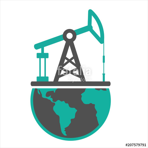 500x500 Pump Jack Stock Image And Royalty Free Vector Files On Fotolia